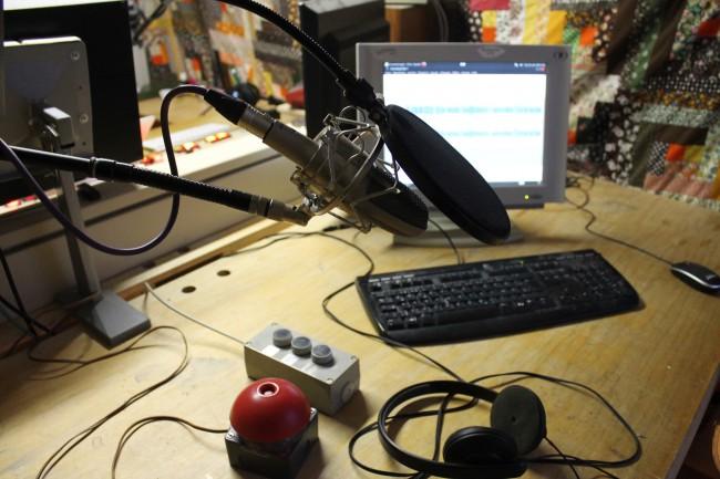 Mikrofon rechts