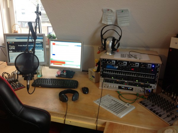 Das Studio ist betriebsbereit