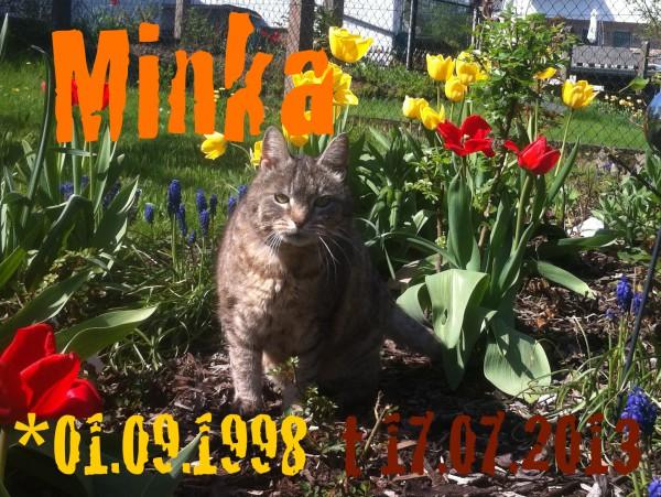 Todesanzeige von Minka