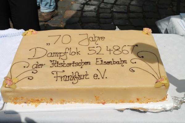 70 Jahre Kuchen